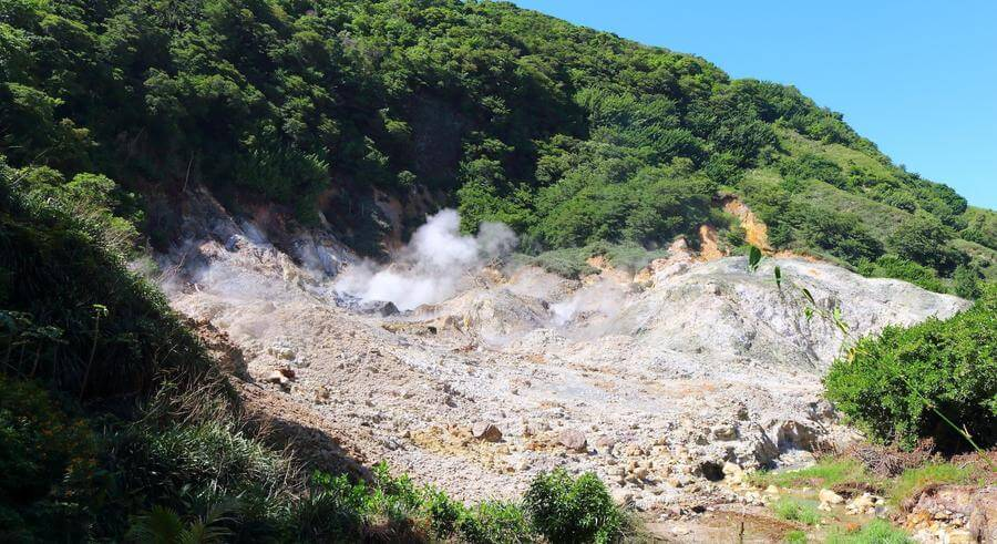 Best Non-touristy Things to do in St Lucia - Sulphur Springs and Volcano
