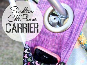 best-stroller-hacks-cell-phone-carrier