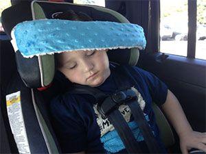 best-stroller-hacks-diy-headrest