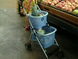 best-stroller-hacks-shopping-basket