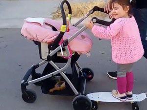 best-stroller-hacks-skateboard